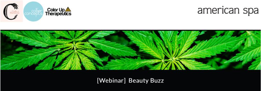 Webinar graphic for Beauty Buzz