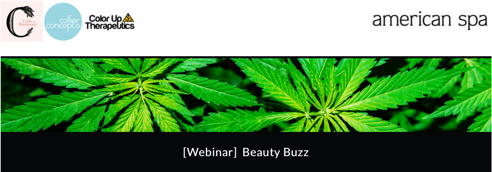 Webinar graphic for Beauty Buzz